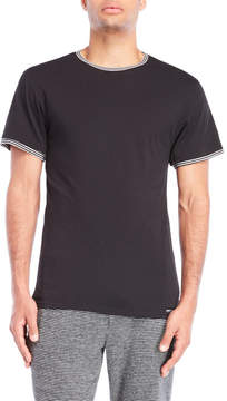 Kenneth Cole Stripe Trim Tee