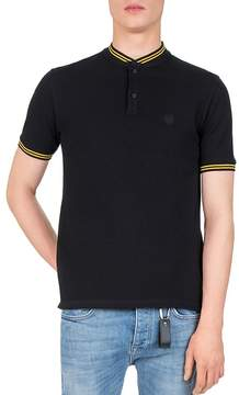The Kooples Pique Teddy Collar Slim Fit Polo