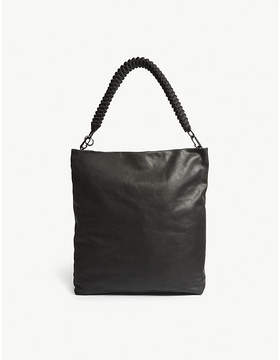 Rick Owens Dirt Cargo Adri leather tote