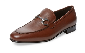 Salvatore Ferragamo Men's Leather Horsebit Loafer