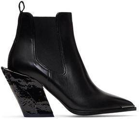 Acne Studios Black Jemina Chelsea Boots