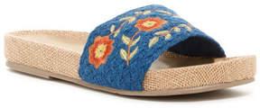 Mia Stitches Slide Sandal