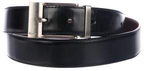Salvatore Ferragamo Patent Leather Reversible Belt