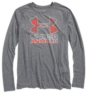 Under Armour Boy's Logo Graphic Heatgear T-Shirt