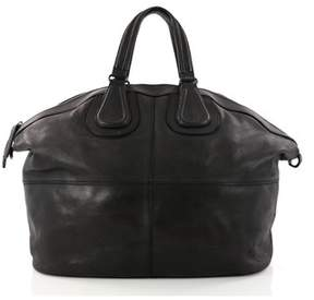 Givenchy Pre-owned: Nightingale Satchel Leather Large.