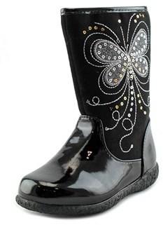 Nina Myryam Round Toe Synthetic Boot.