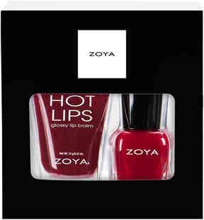 Zoya Women's Be Jolly Nail Polish & Lip Balm Set - 2 Pack