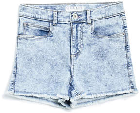 GUESS Acid-Wash Denim Shorts (7-16)