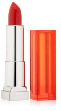 Maybelline Colorsensational Lip Color Lipstick, 890, Neon Red.