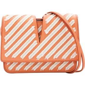 Jil Sander Orange Leather Handbag