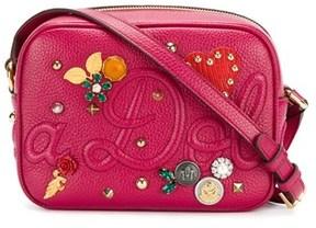 Dolce & Gabbana Dolce E Gabbana Women's Fuchsia Leather Shoulder Bag. - PINK - STYLE