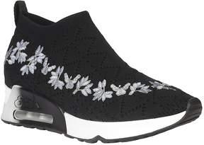 Ash Floral Slip On Sneakers