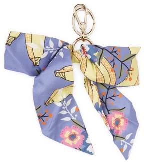 Furla Women's Silk Bow Keychain