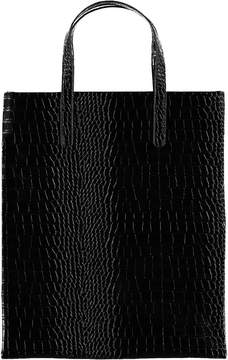 Forever 21 Faux Croc Leather Tote