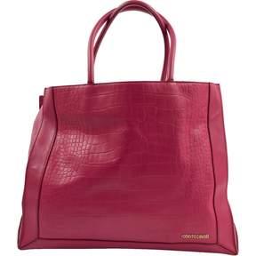 Roberto Cavalli Pink Leather Handbag