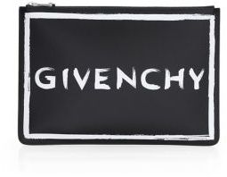 Givenchy Graffiti Logo Pouch