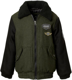 iXtreme Wool Bomber Jacket- Boys Big Kid