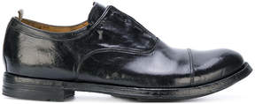 Officine Creative worn out effect oxfords