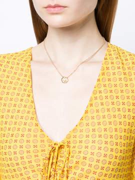 Aurelie Bidermann Floral rose necklace