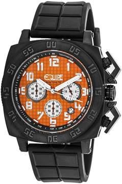Equipe Tritium Push Chronograph Orange Dial Men's Watch
