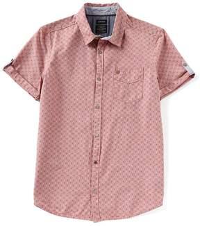 Buffalo David Bitton Suton Short-Sleeve All Over Print Shirt
