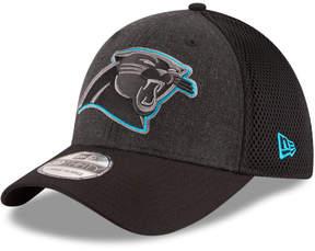 New Era Carolina Panthers Black Heather Neo 39THIRTY Cap