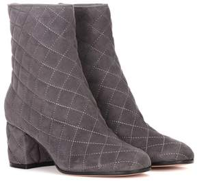 Gianvito Rossi Exclusive to mytheresa.com – Quilted suede ankle boots