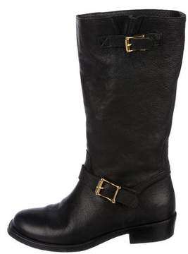 Rupert Sanderson Leather Mid-Calf Boots