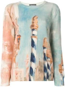 Alberta Ferretti printed jumper