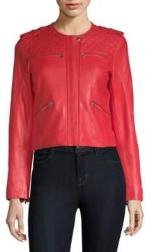 Generation Love Michelle Leather Moto Jacket