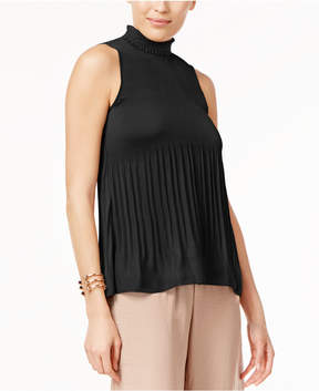 Cable & Gauge Pleated Top