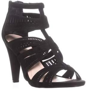 Alfani A35 Chloey Strappy Dress Sandals, Black.