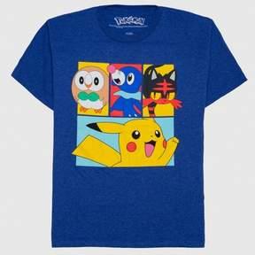 Pokemon Boys' T-Shirt - Royal Heather