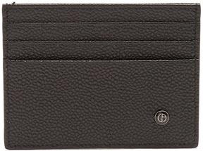 Giorgio Armani Grained-leather card holder