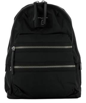 Marc Jacobs Black Fabric Backpack - BLACK - STYLE