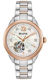 Bulova Women's Diamond Automatic Movement Watch
