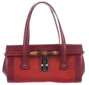 Gucci GG Bamboo Bullet Bag - RED - STYLE