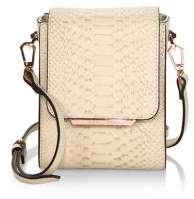 KENDALL + KYLIE Violet Leather Mini Crossbody Bag