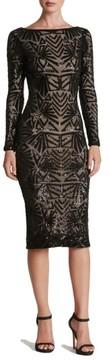 Dress the Population Women's Emery Midi Dress