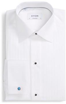 Eton Men's Contemporary Fit Solid Tuxedo Shirt