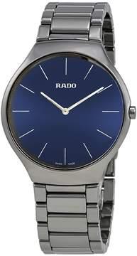Rado True Thinline Blue Dial Men's Watch