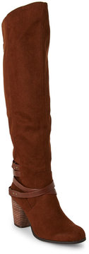 Madden-Girl Chestnut Dutchy Knee High Boots