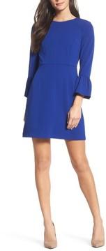 Charles Henry Women's Ruffle Sleeve A-Line Dress