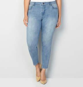 Avenue 1432 Skinny Jean in Medium Wash 28-32
