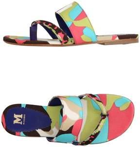 M Missoni Toe strap sandals