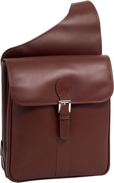 Mcklein McKleinUSA Sabotino 14 Leather Vertical Messenger Bag
