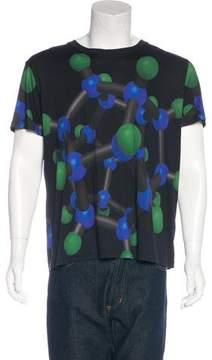 Christopher Kane Molecule Print T-Shirt