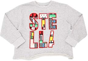 Stella McCartney Printed Organic Cotton Sweatshirt