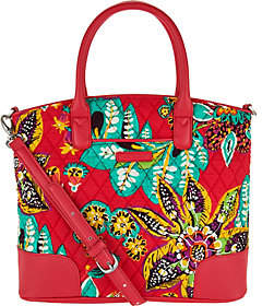 Vera Bradley Signature Print Day Off Satchel - ONE COLOR - STYLE