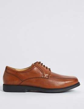 Marks and Spencer Big & Tall Leather Tramline Lace-up Shoes